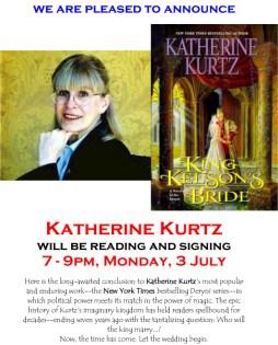 Katherine Kurtz, the poster