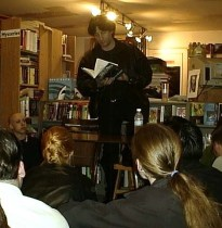 Reading from Stardust, the Avon edition.