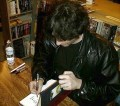 Signing Stardust in the Vess illustrated editon.
