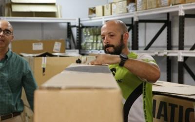La respuesta española al problema del transporte de las cajas de bicicletas