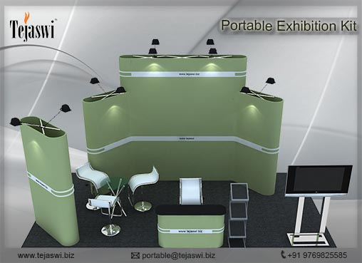 6 Meter x 3 Meter Portable Exhibition Kit 4 side open_634S-4