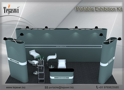 6 meter x 3 meter portable exhibition kit 4 Side Open_634S-1