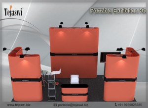 6 meter x 3 meter portable exhibition kit 4 Side Open_634S-6