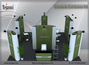 6 Meter x 3 Meter Portable Exhibition Kit_4 side open_664S-5