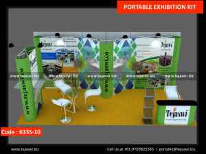 6 Meter x 3 Meter Portable Exhibition Stand 633S-10