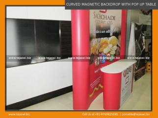 Portable Exhibition Kit Food Expo, Annapoorna, Aahar, Fi Hi, Foodmech, Food Tech
