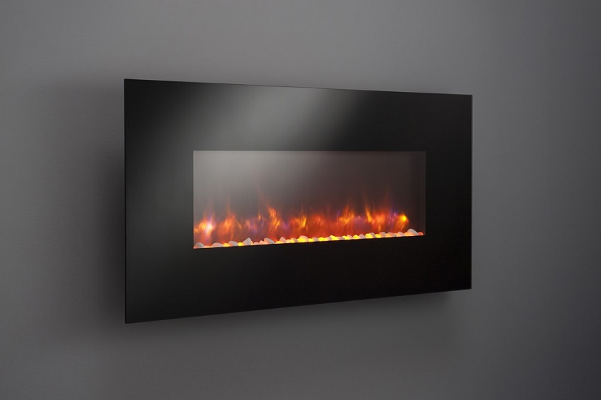 "Pictures Of Electric Fireplace Inserts 50""/58""/70""/94"" Gallery Collection Linear Wall Electric"