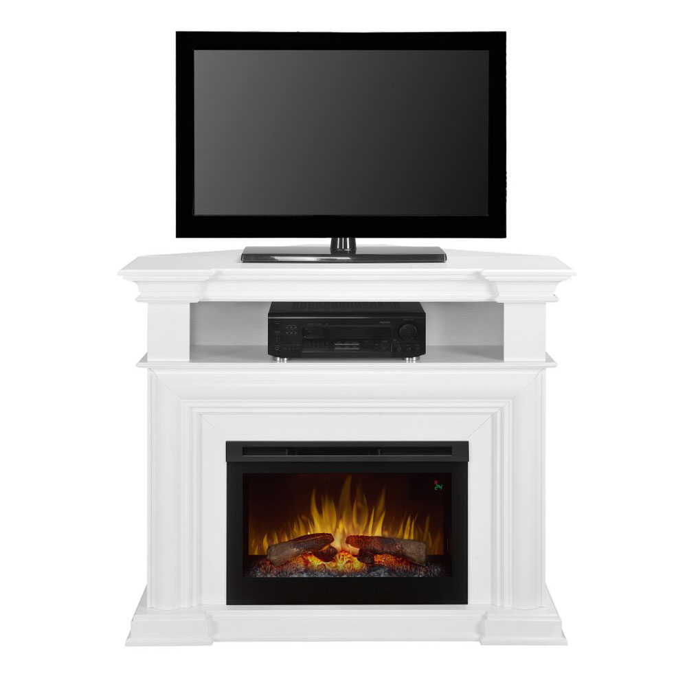 4825 Colleen Wall or Corner Electric Fireplace Media ConsoleDFP25L51537W