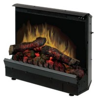 """23.18"""" Dimplex Deluxe Electric Fireplace Insert"""