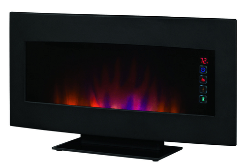 Serendipity Wall Hanging Electric Fireplace 34hf600gra 33.5'' Classicflame Serendipity Matte Black Wall Hanging