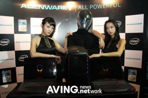 Lancement Alienware