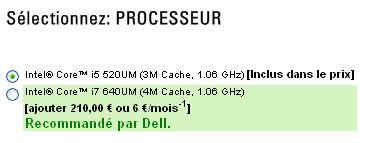 Alienware M11x Intel Core i5 et i7
