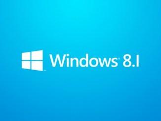 Sortie de Windows 8.1 AKA blue