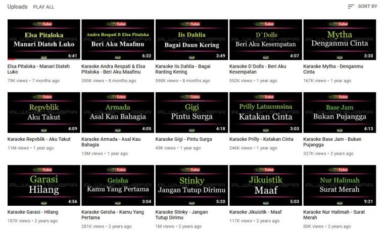 download lagu karaoke