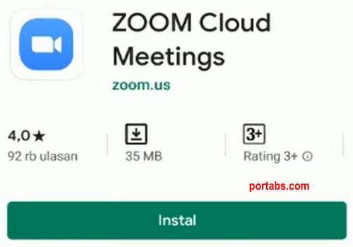 Cara Install Aplikasi Zoom Meeting di Android dan Cara Menggunakannya