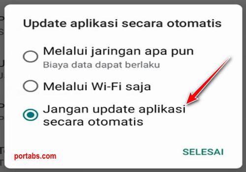 Cara Membuat Android Tidak Melakukan Update Otomatis pada Aplikasi