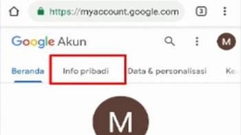 Cara Mengganti Nama Email Gmail (Ganti Nama Akun Google) di HP Android