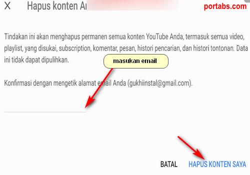Cara Menghapus Akun Youtube Secara Permanen di Android