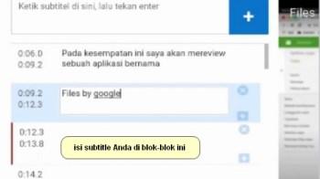 Cara Menambahkan Subtitle ke Video Youtube Melalui Android