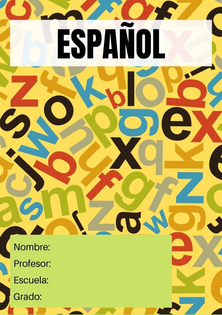 portada de español gratis