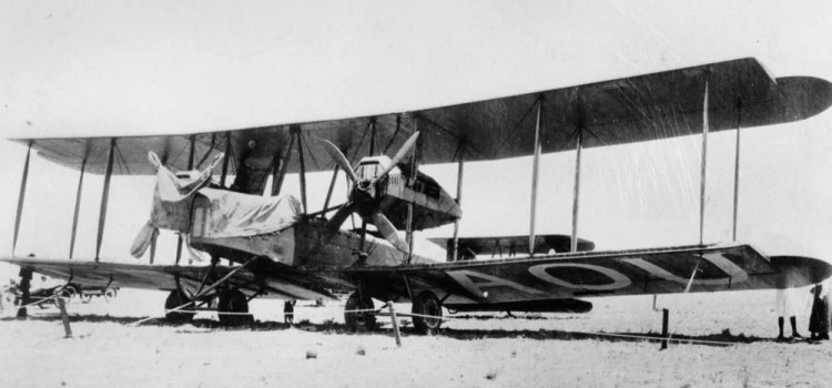 The 100th Anniversary of the England to Australia Air Race