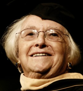 Helen Dix received the Kent State University Medallion in 2007.