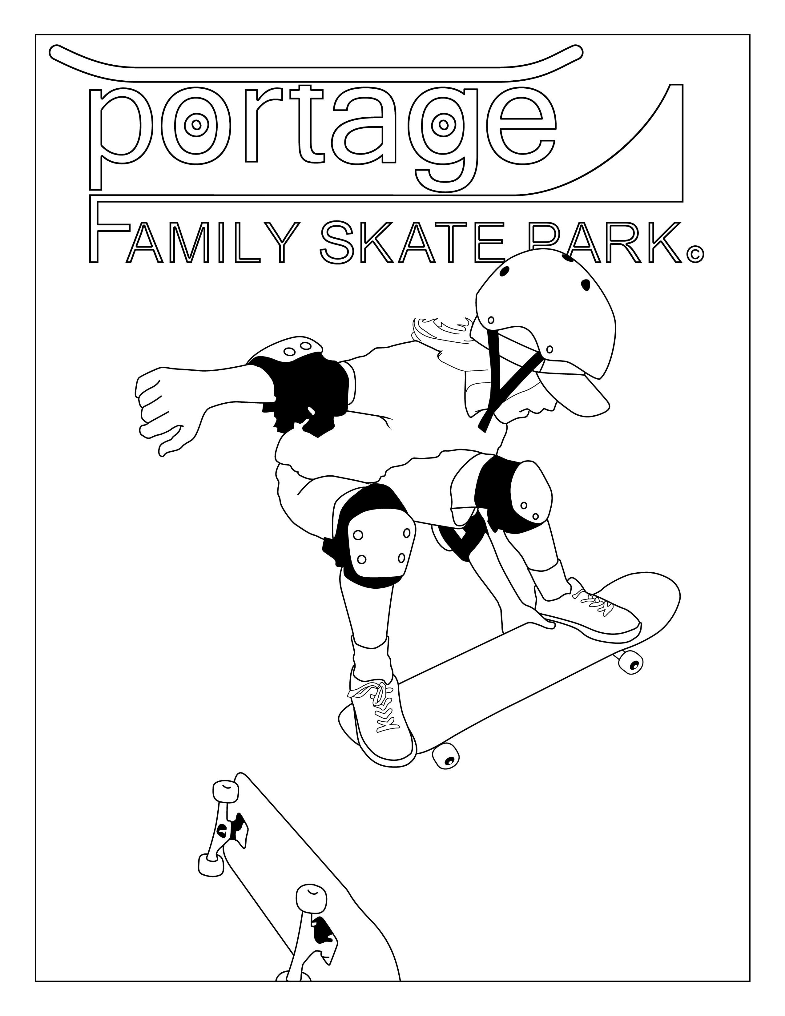 February: Portage Family Skate Park Newsletter