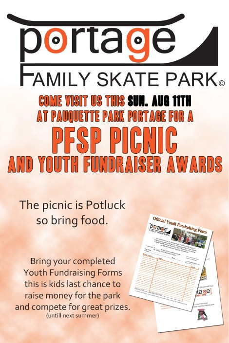 Bring family and friends and lets have some fun! Potluck PFSP Style.