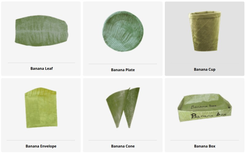 , Banana Leaf: la tecnología  sustentable que reemplaza el plástico con hojas de banano