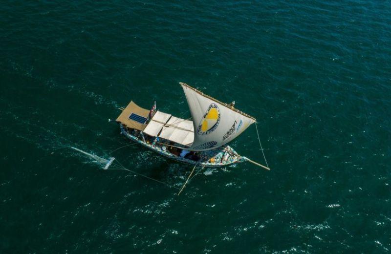 , El primer barco del mundo hecho solo de plástico reciclado