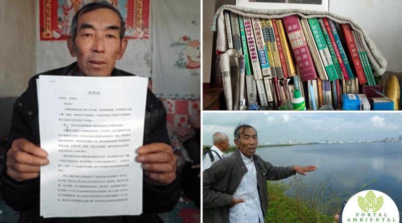 , Agricultor estudió 16 años derecho para proteger su aldea de una Petrolera