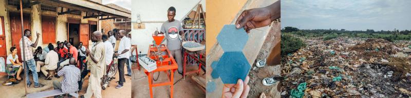 , Estudiante convierte plástico reciclado en cerámicos que son más resistentes que el hormigón
