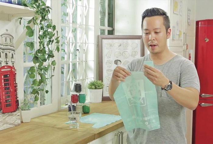 , Joven inventó bolsas ecológicas y comestibles hechas de yuca