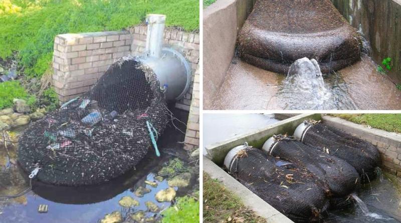 , Australia instala redes para evitar que la basura llegue a las reservas naturales