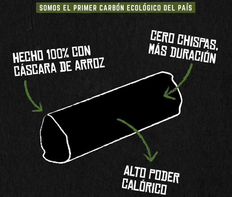 , Argentino creó carbón 100% ecológico a partir de desechos orgánicos