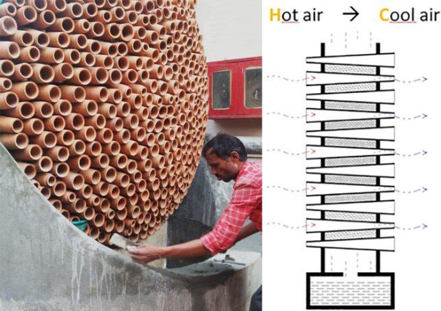 , Joven Creó un aire acondicionado natural, de bajo costo y cero emisiones