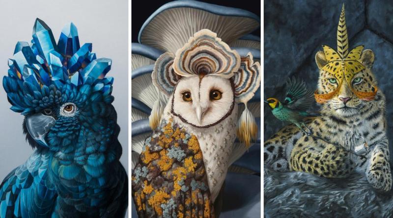, Artísta crea fantásticas pinturas que nos invitan a reconocer la 'magia' de la naturaleza