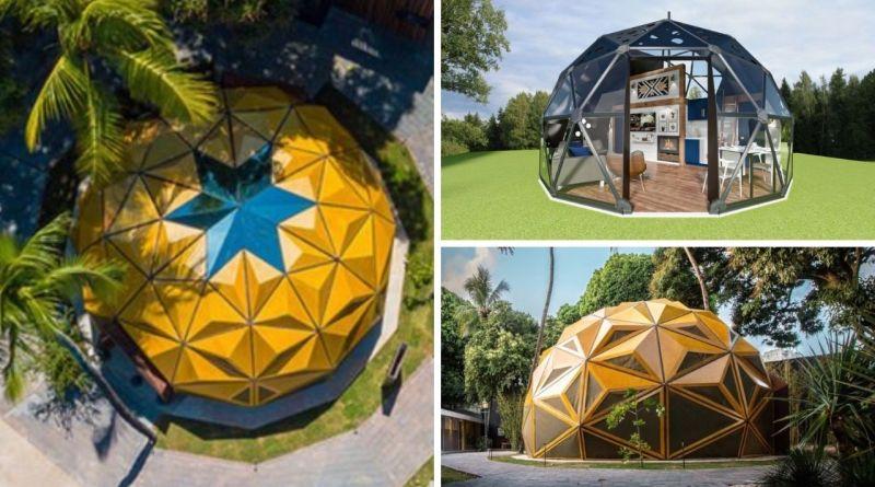 , Empresa crea cúpulas geodésicas para usar como cabañas o invernaderos y puedes ensamblar tu mismo