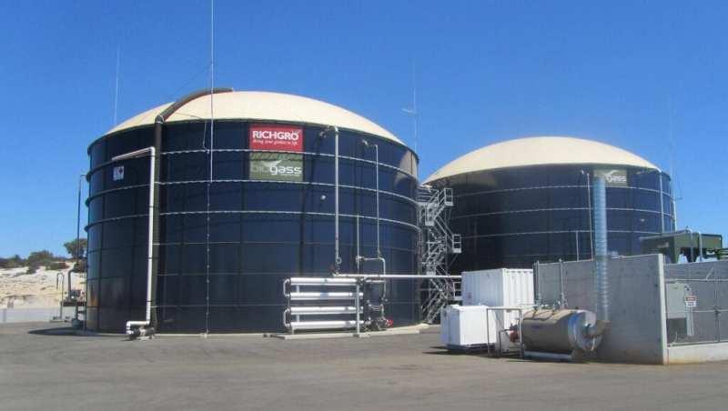 , Este biodigestor gigante transforma los desechos orgánicos en energía para 3.000 hogares
