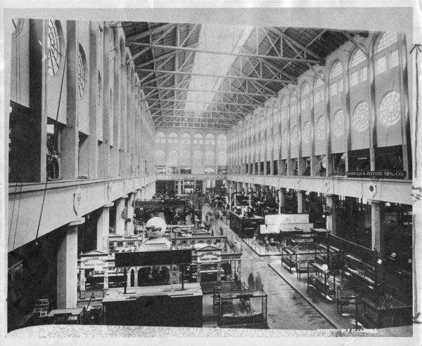 Ecc World' Columbian Exposition Transportation Building