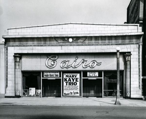 Cairo Illinois Architecture