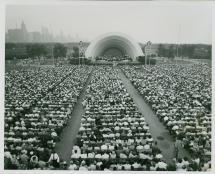 Ecc Petrillo Music Shell Grant Park Chicago 1931