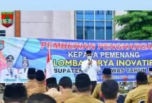 Photo of DPMPTSP Mura Jawarai Lomba Karya Inovatif Tingkat Kabupaten Tahun 2020