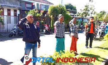 Photo of Puluhan Warga di Kecamatan Mlandingan Terjaring Razia Masker