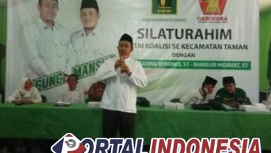 """Photo of Cabup """"AMAN"""" Mukti Agung Wibowo Hadiri Konsolidasi Pengukuhan Kordes Kecamatan Taman"""
