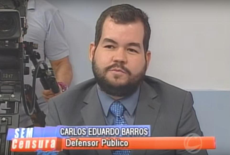 Defensor Público Carlos Eduardo participou do programa Sem Censura Pará