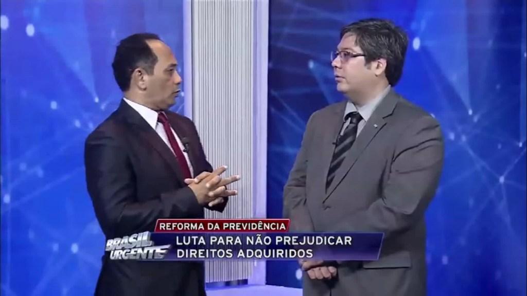 Entrevista com Fabio Namekata sobre a PEC 287/2016 – Brasil Urgente/Pará – 23.02.2017