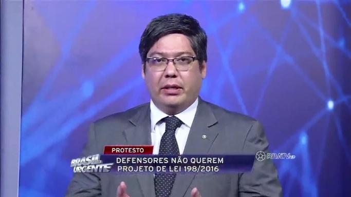 Entrevista com Fabio Namekata sobre a PLP 198/2016 – Brasil Urgente Pará – 30.11.2016
