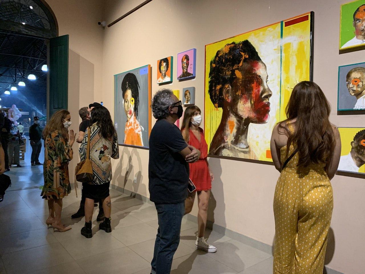 Exposição de arte com temática étnico-racial abre série de programações do mês da Defensoria Pública