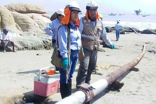 Resultado de imagen para Fiscalía investigará derrame de petróleo en Cabo Blanco
